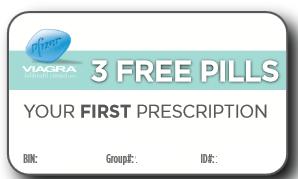 How to get viagra free